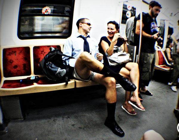 No Pants Subway Ride Buenos Aires 2012