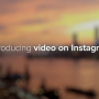 Instagram agregó videos
