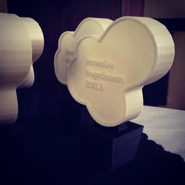 Premios Popckorn 2013. Foto: @Gbuzzi
