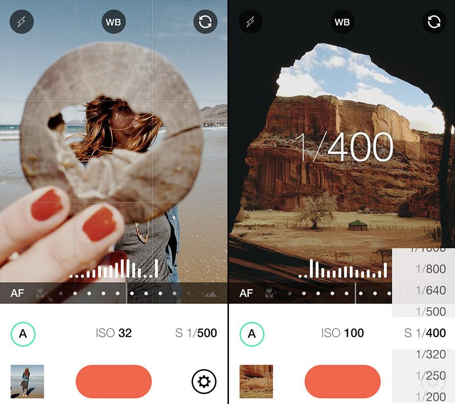 Las mejores App móviles para editar archivos RAW