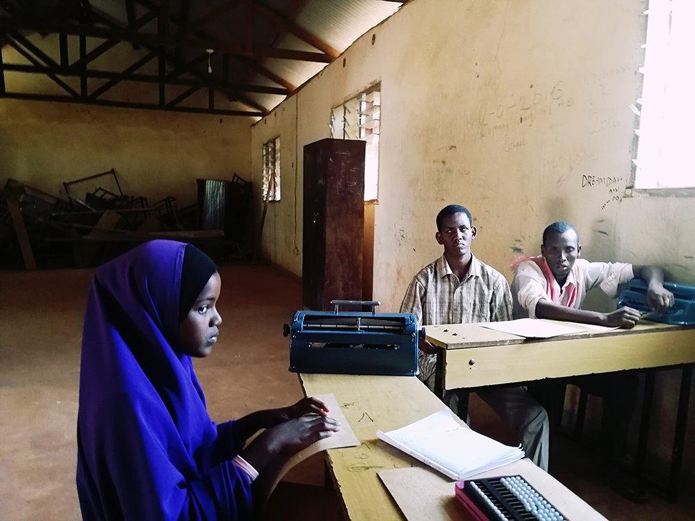 Blind in Refugee Camp, Dadaab, Kenya. Foto: Eduardo Lopez Moreno